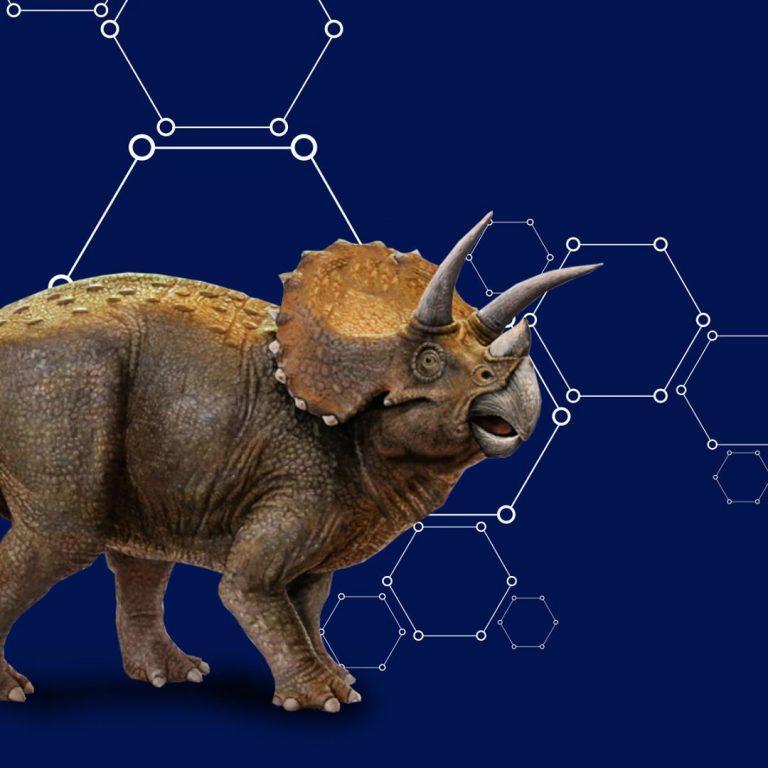 Dinotropolis Dino Intel Triceratops
